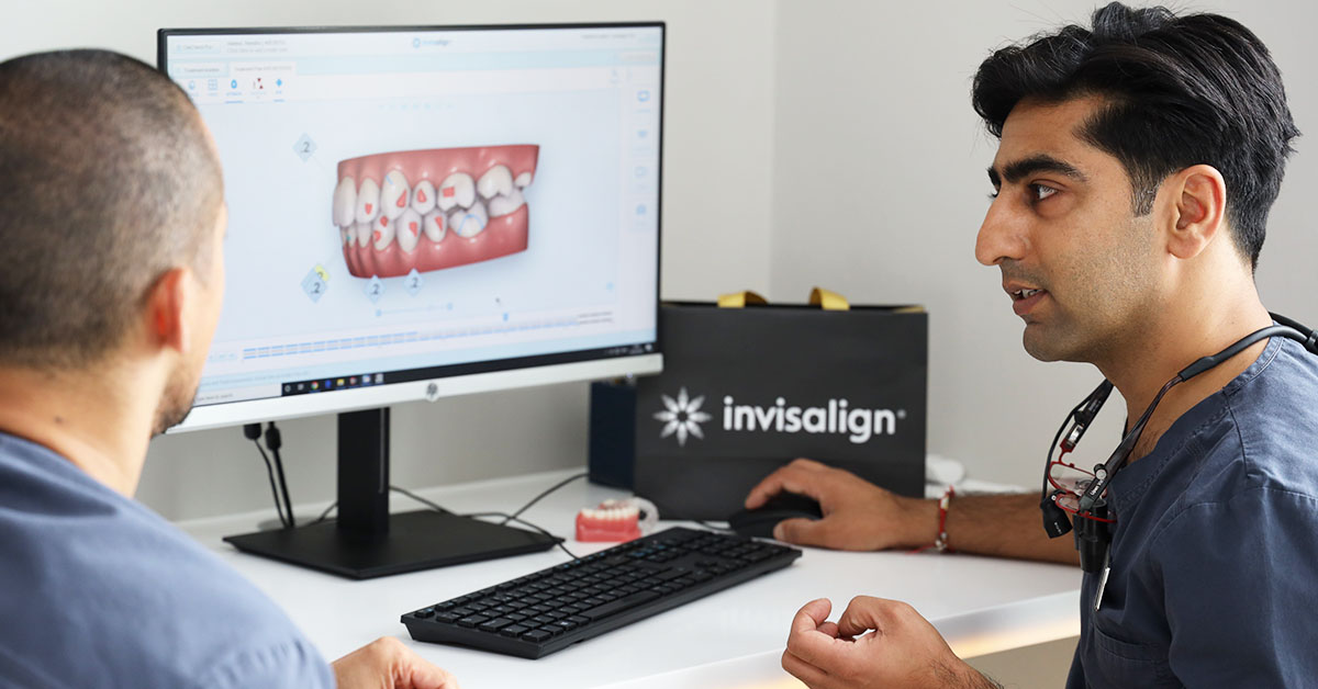 Teeth straightening using Invisalign in Warwickshire